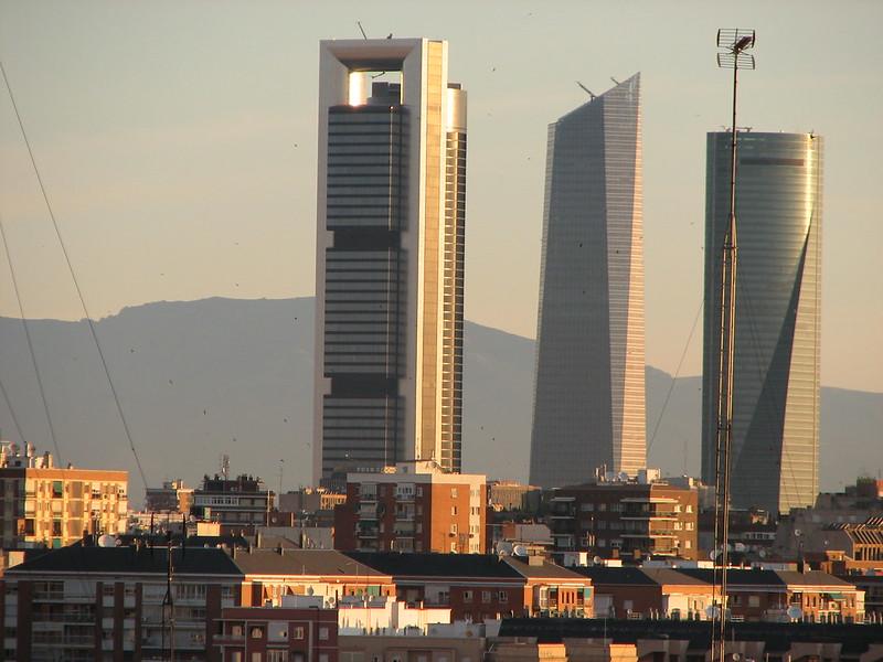 wieżowce Madrytu