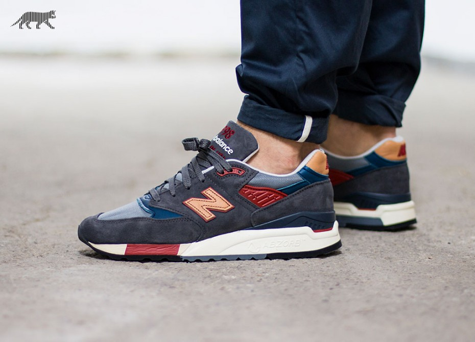 huge discount 84b18 0b8f9 New Balance 998 Made in USA (Navy Orange) | Tienda GAM | Flickr