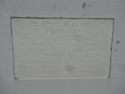 chfstew louisiana laassumptionparish nationalregisterofhistoricplaces nrhpsouth courthouse 100yearsold
