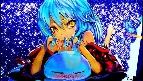 How to Draw Tensei Shitara Slime Datta Ken