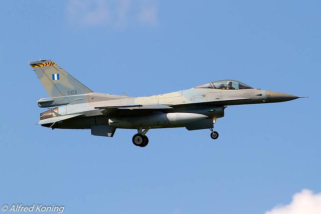 F-16C, 003, Griekenland