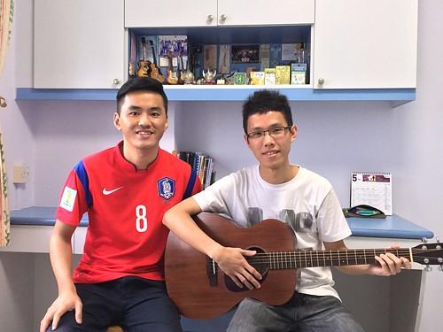 Adult guitar lessons Singapore Bernard