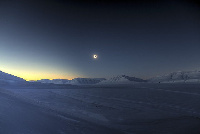 Eclipse totality over Sassendalen