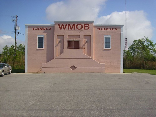 01 WMOB AM 1360 Mobile Alabama USA Station front