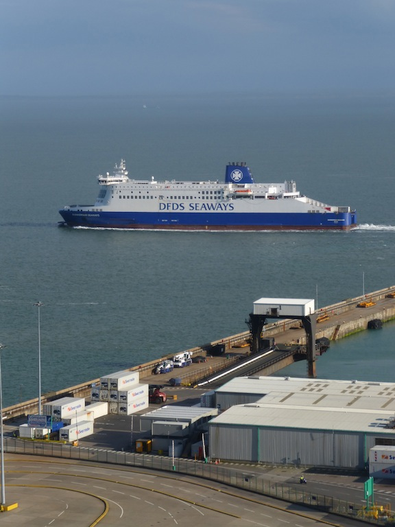 Port of Dover Dover to Deal walk