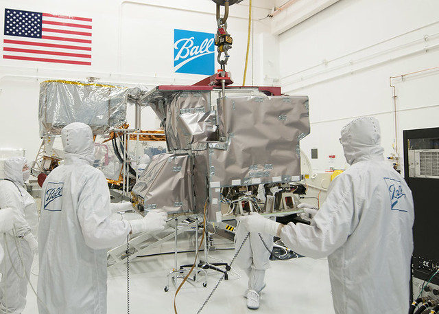 Crls instrument is transported to the spacecraft