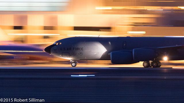 Post sunset KC-135 departure-5036