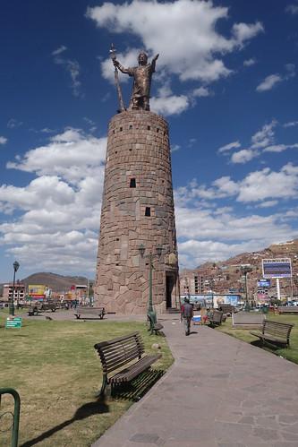 Inca Pachacutec Monument