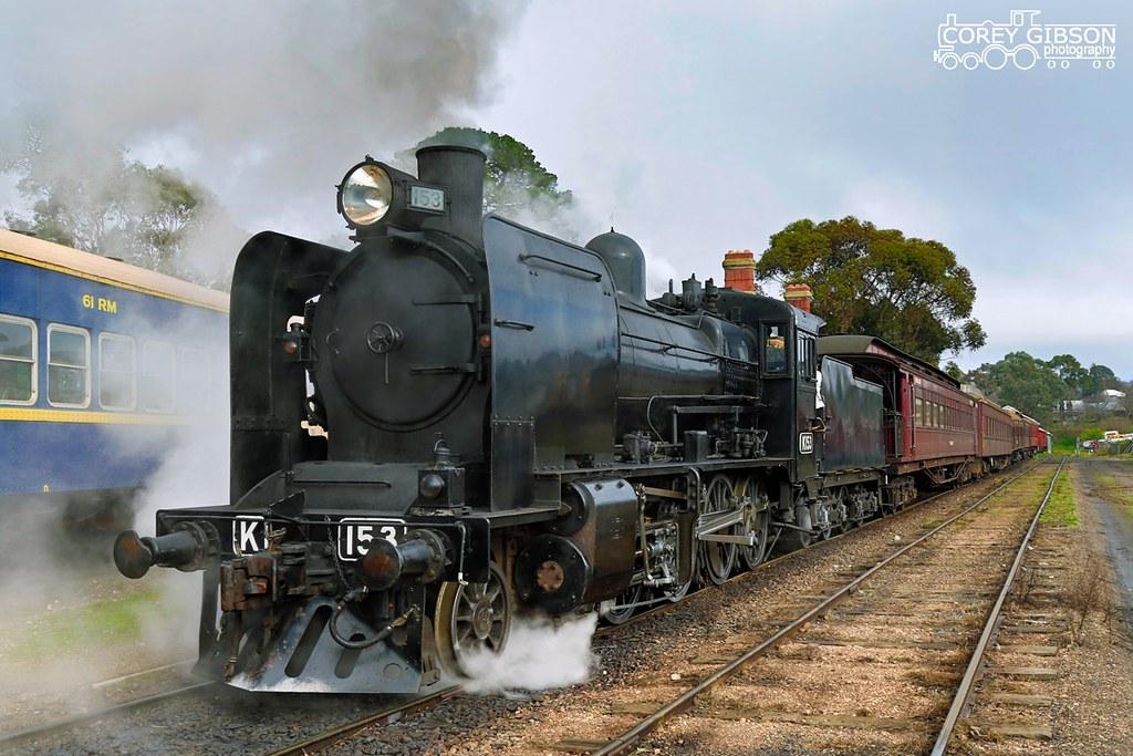 Victorian Goldfields Railway - K153 by Corey Gibson