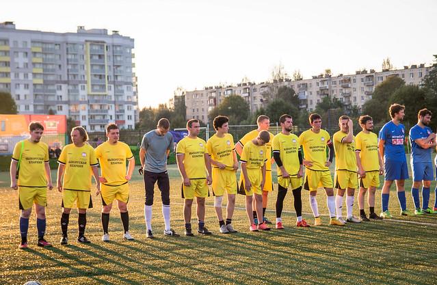 24 августа 2016 года. Футбольный турнир в посёлке Романовка