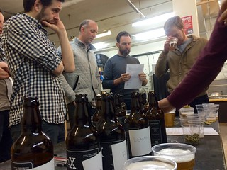 Beer tasting is serious business. | by adactio