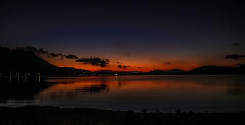 sunrise dawn night hongkong