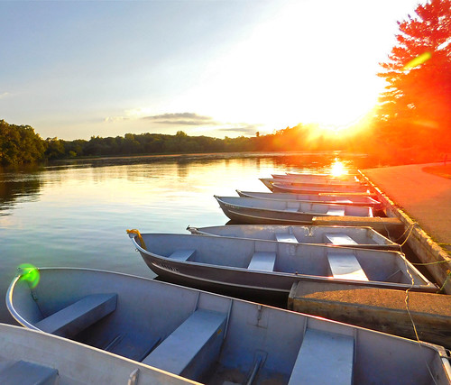 summer boats water lake park calm sunset stonycreekmetropark washingtontownship michigan