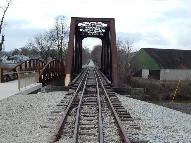 IMC bridge at Kokomo Indiana