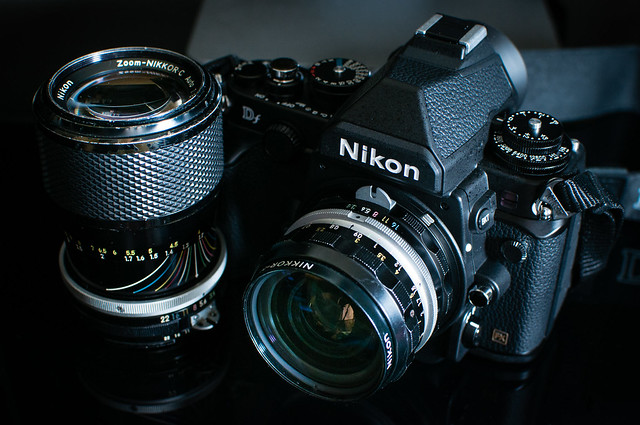 Zoom-Nikkor 43-86mm F3.5 & Nikkor Auto H.C. 28mm F3.5 + Nikon Df