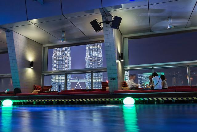 Pool with a view - Kuala Lumpur, Malaysia