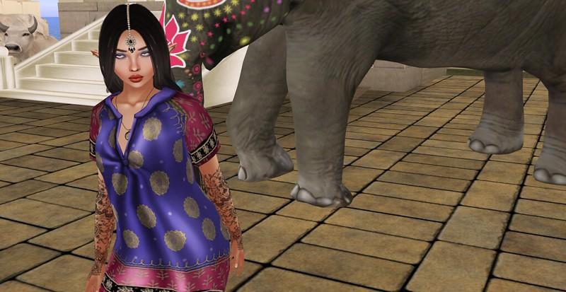 Life In India - Closeup