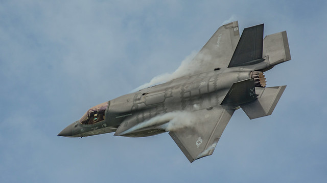 F35 Fighter On A Roll