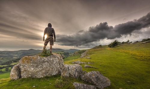 sunset mountain wales clouds rocks north cymru cliffs tokina hdr llangollen denbighshire 1116 ruabon eglwyseg