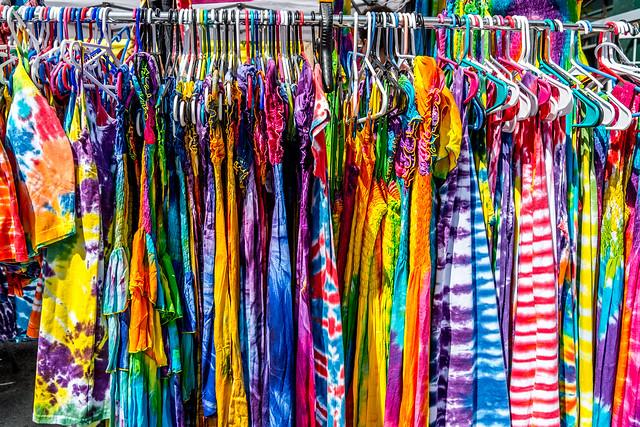 Tie Dye Line