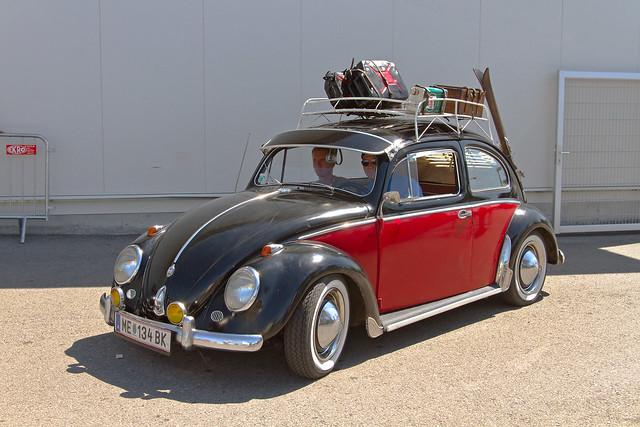 Volkswagen Typ 1 Beetle 1956 en vacance ... ☺☺!* (2187)