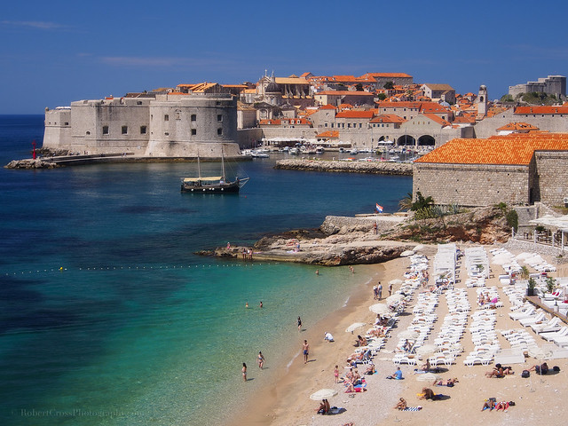 The Beaches of Dubrovnik