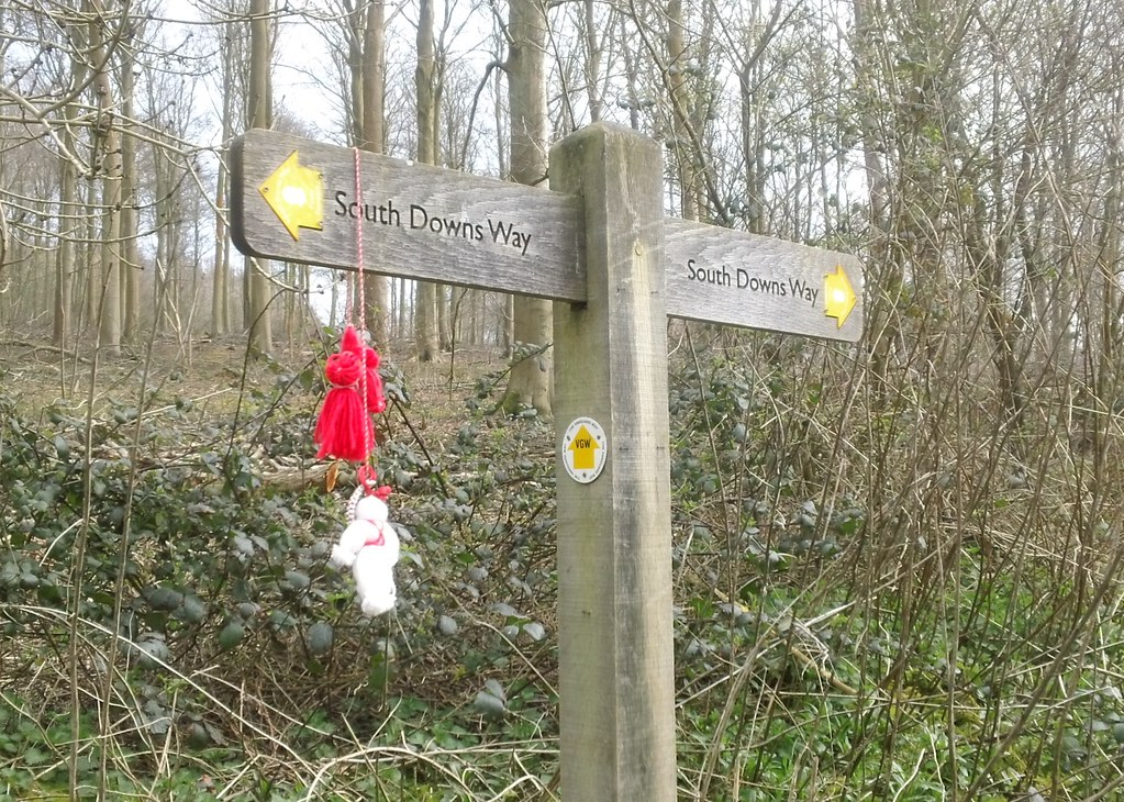 Objects on a post Friston Forest area