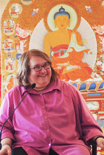 Sharon Salzberg leading Loving Kindness Retreat | by Olivier Riché