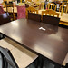Darkwood dining table