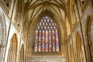 Augustus Pugin window at Milton Abbey