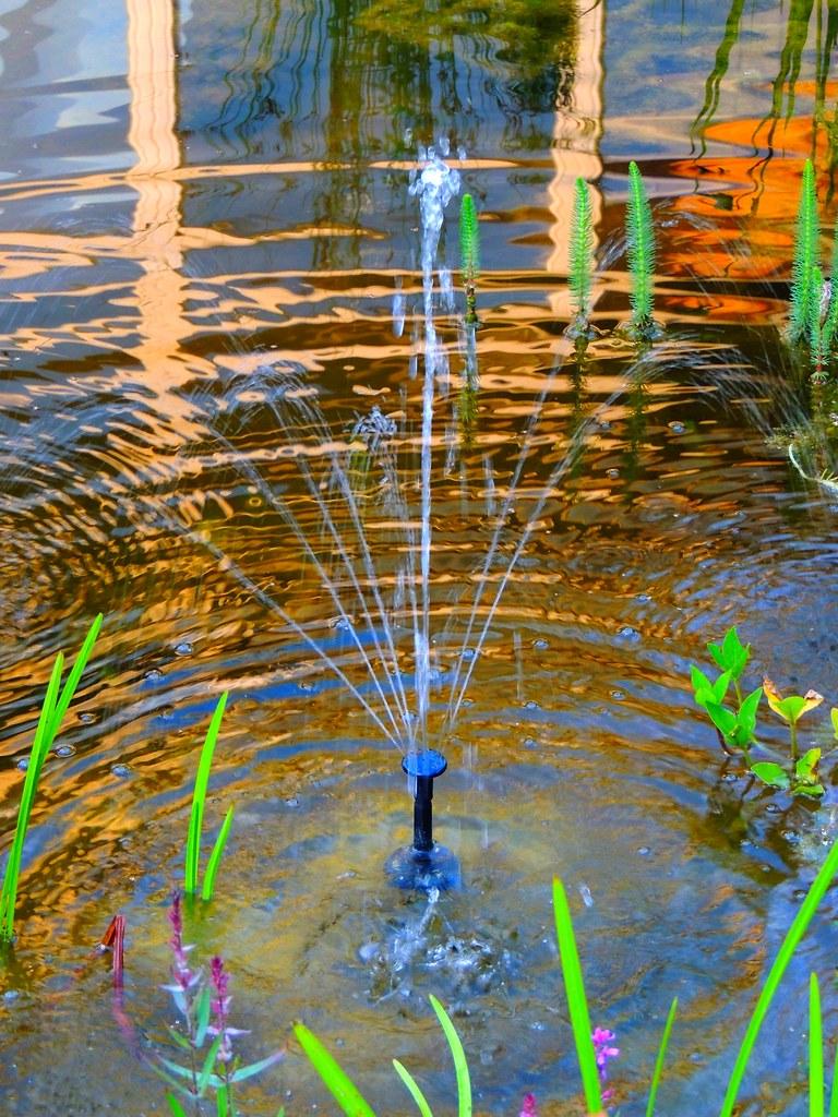 Springbrunnen Modell