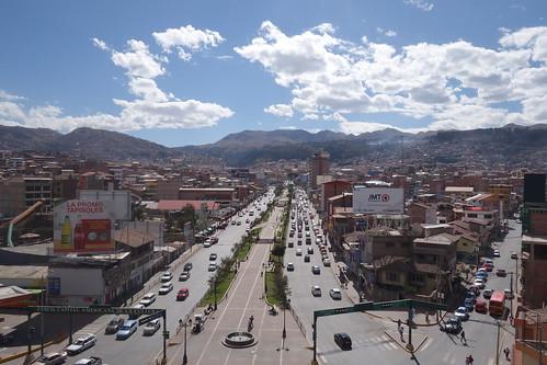 Inca Pachacutec Monument - Aussicht von oben
