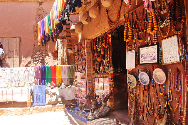 Ait Benhaddou shop