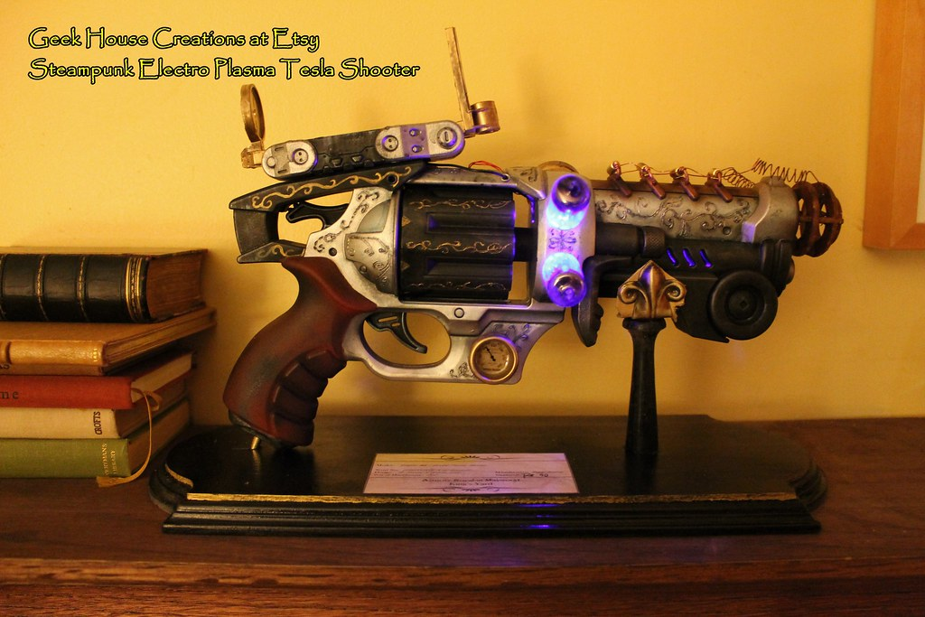 Tesla Gun | Tesla Gun and stand from Geek House Creations on… | Flickr