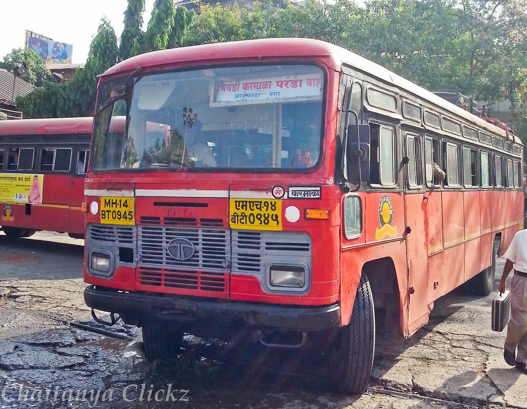 Bhiwandi - Barshi | Operated by Karmala | chaitanya MSRTC