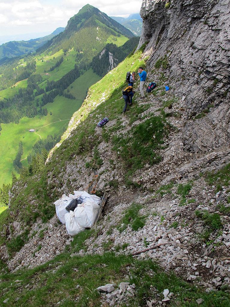07.07.2016 - Altlastenbeseitigung Edisloch, Gemeinde Hasle LU