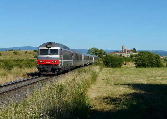 Train intercités 15952 Le Cévenol (Nîmes - Clermont)