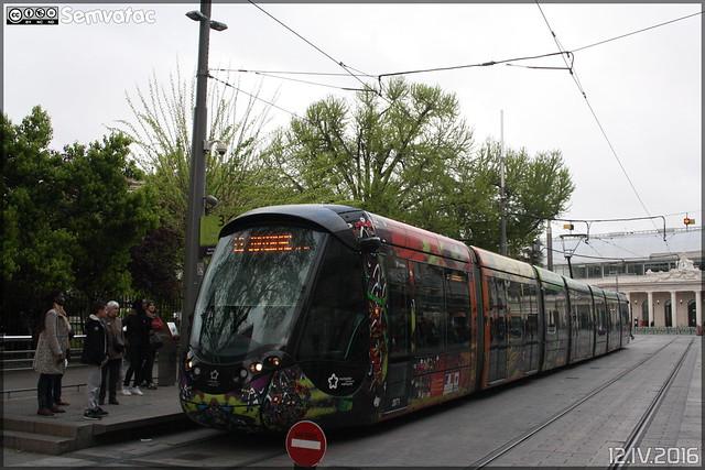 Alstom Citadis - Tam Montpellier 3M (Transports Alternatifs de Montpellier Méditerranée Métropole) n°2071