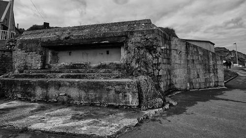 German bunker - WN72 - Dog Green sector, Omaha Beach