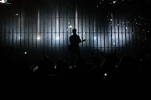 shawn mendes shawnmendes music silhouette guitar concert show loud simple people tunes one stage drop mic tune contrast fujifilm x100t dramatic light lights nightlights darkness 2016 summer quiet before storm silence sound close see view moment it might get start night too distant shape man other celebrity use we getting ready watch tour every single week songs sing voice second that time happening universe what happens front many there has be 23mm 1125 f20 800