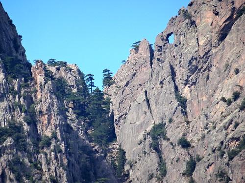 Le Tafonu di u Cumpuleddu et Calanca Murata depuis la montée vers Punta Russa