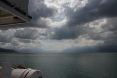 Balade en bateau de la CGN