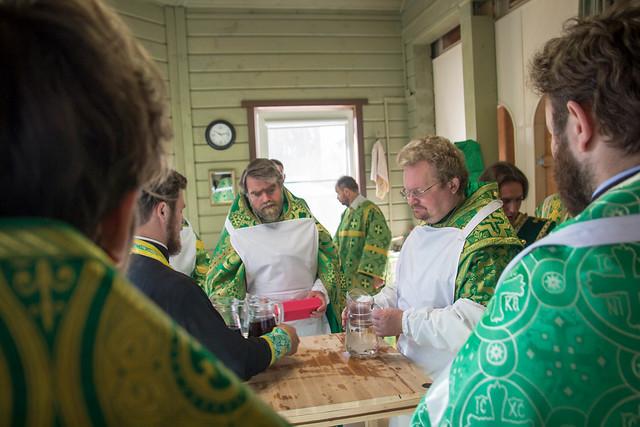 1 августа 2016 г. Епископ Игнатий возглавил торжества в храме прп. Серафима Саровского во Всеволожске