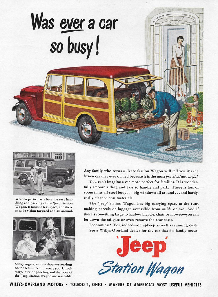 1949 Willys Jeep Station Wagon (USA)   Michael   Flickr