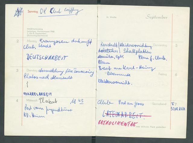 Archiv P013 Club Okay Bottrop, Eröffnung, Sonntag 01. September 1968