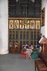 organ case (Temple Moore, 1880s)