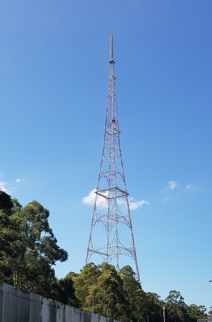Television Tower at Artarmon, NSW.
