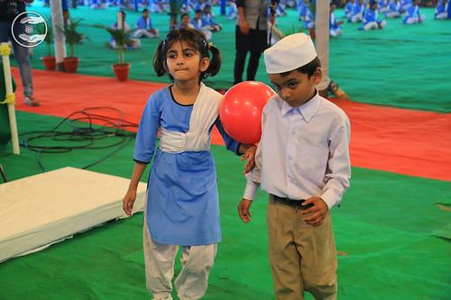Ball Race A Game by Bal Sewa Dal Volunteers