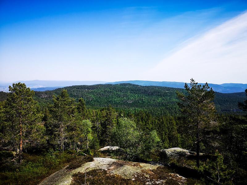 14-Utsikt fra Nesfjell til Gunhildrudknatten