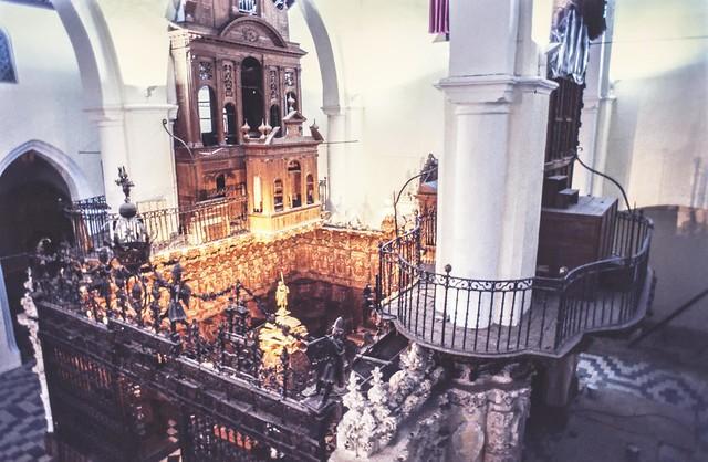San Juan organo en restauracion